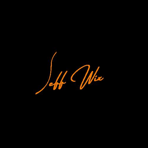 jeffwix logo signature